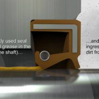 Lip seals compete with mechanical face seals in sealing oil or grease in rotary shaft applications. Under certain running conditions both kinds of seals can be used however, the latter ones are generally used for applications where a significant pressure difference... #lipseals #rotaryseals #seals