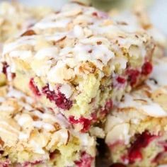 Almond Cranberry Cake - A soft and fluffy almond flavored cake filled with fresh cranberries and topped with a buttery almond streusel. A delicious and comforting breakfast or dessert for the holiday season. Cranberry Cake, Cranberry Recipes, Holiday Recipes, Cranberry Almond, Christmas Recipes, Sweet Recipes, Cake Recipes, Dessert Recipes, Irish Recipes