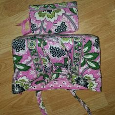 Gently used Vera Bradley purse and wallet Vera Vera Bradley Bags