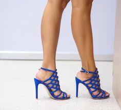 Sandale Kareta Albastre Stiletto Heels, Shoes, Fashion, Sandals, Moda, Zapatos, Shoes Outlet, Fashion Styles, Shoe