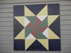 Barn Quilt Patterns To Paint | Martha Washington Star