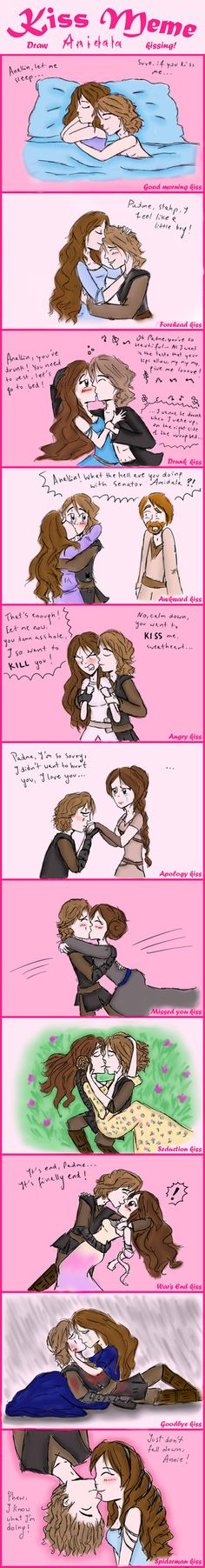 Anidala Kiss Meme! ^^ by AlaSkywalker- SO CUTE! I wish that when I get a bf, he'll be just like that.