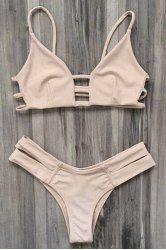 SHARE & Get it FREE | Trendy Solid Color Spaghetti Straps Bikini Set For WomenFor Fashion Lovers only:80,000+ Items • New Arrivals Daily • Affordable Casual to Chic for Every Occasion Join Sammydress: Get YOUR $50 NOW!