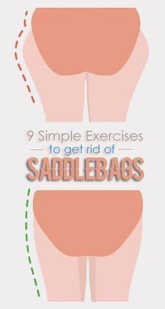 9 Simple Exercises to get rid of Saddlebags