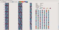 Вязаные бисерные жгуты: Схема  Schema
