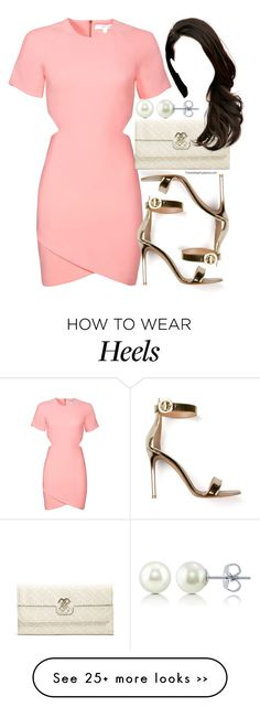 """Untitled #321"" by foreverdreamt on Polyvore featuring Elizabeth and James, Gianvito Rossi, GUESS and BERRICLE"