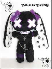 Gothic pet bunny | by Dollz by Electra