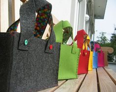 Felt Bag! i dont know for what yet but i want one!  maybe to haul my craft night stuff around!!