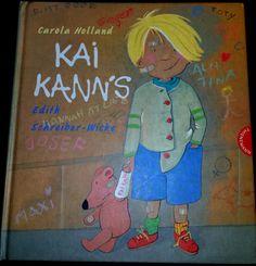 """Unser 2. Buchtipp heute:   """"Kai kann's"""" von Edith Schreiber-Wicke.  """"Das Bilderbuch mit der Zauberformel für fröhliche, selbstbewusste Kinder.""""    JEDES Kind hat eine Begabung, wir müssen sie nur herausfinden...  #Kinderbuch #Kai #kanns #Begabungen #Stärke"""