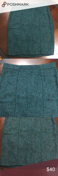 5620466d5b Banana Republic Luxury Pencil Skirt Textured 4 New With Tags Banana Republic  Luxury Italian Flannel Skirt