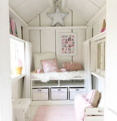 Teenage girl bedroom decor guide To avoid this, then pick the tone all on your own. You can allow them to find some good bright furniture or accents. Playhouse Decor, Playhouse Interior, Playhouse Furniture, Girls Playhouse, Shed Interior, Build A Playhouse, Playhouse Outdoor, Wooden Playhouse, Interior Ideas