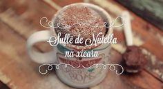 Só 2 ingredientes: aprenda a fazer Suflê de Nutella na xícara