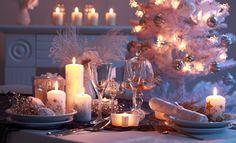Идеи декора новогодних свечей / Новогодние свечи бывают различных форм и высоты, прекрасно вписываются в новогодний интерьер на столе, на камине, на полу или подоконнике.