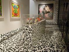 Keith Haring by Nicholas Kirkwood collection at the Nakamura Keith Haring Museum, Tokyo