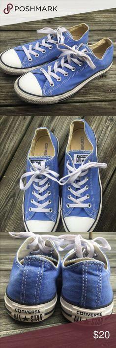 Laid Back Stil Converse Blau Damen Passform Chuck Taylor
