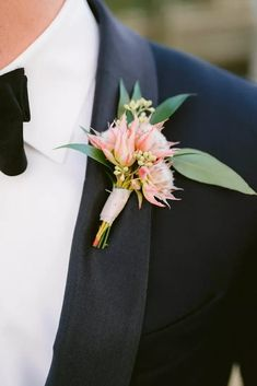 Pink Protea Boutonniere for Wedding in Norfolk, Virginia Wedding Couples, Our Wedding, Norfolk Virginia, Surprise Wedding, Real Weddings, Wedding Planner, Bring It On, Backyard, Bride
