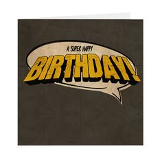 Are you looking for ideas for happy birthday friendship?Check out the post right here for unique happy birthday ideas.May the this special day bring you happy memories. Happy Birthday For Her, Happy Birthday Cakes, Birthday Wishes, Birthday Ideas, Birthday Cards, Old Comic Books, Old Comics, Super Happy, Cool Cards