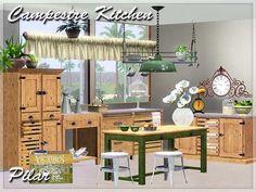 Kitchen Campestre by Pilar - Sims 3 Downloads CC Caboodle