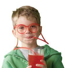 straw glasses -- bennett