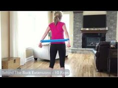 http://flexactivesports.com - In this exercise video you'll learn how to use Resistance Loop Bands for a full upper body workout. We will target the shoulder...