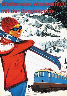 Winter Sports _______________________________ Deutsche Bundesbahn
