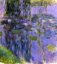 Claude Monet. Water Lilies (1919).
