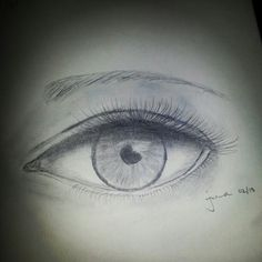 First time drawing an eyes