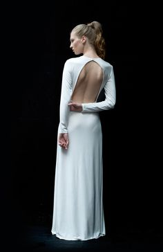 silk jersey gowns are lovely.