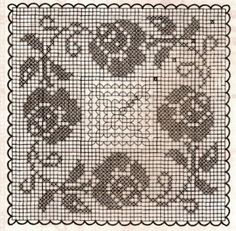 If you looking for a great border for either your crochet or knitting project, check this interesting pattern out. When you see the tutorial you will see that you will use both the knitting needle and crochet hook to work on the the wavy border. Filet Crochet, Crochet Chart, Crochet Motif, Crochet Doilies, Crochet Lace, Crochet Stitches, Easy Crochet, Crochet Edgings, Crochet Braids