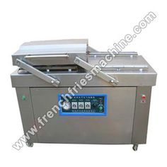 Brief Introduction of French Fries Packing Machine The packing machine evacuates the air from the bag of French fries by its vacuum pump automatically, and fills in nitrogen at your option, in order. Potato Chips Machine, Packing Machine, Banana Chips, Vacuum Pump, Fried Potatoes, French Fries, Seals, Vacuums, Times