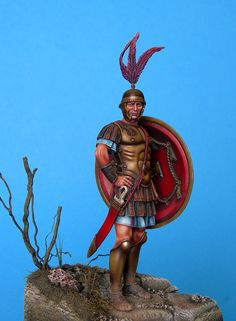 The Pewter Brigade: COMPLETED - Roman military tribune - Early Republic - 3rd Century B.C.