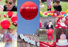Let's Have A Ball Themed Kids Party & Apple Slice Party Balls | Domestic Fits