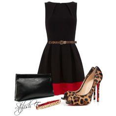 """Black Outfit !"" by stylisheve on Polyvore"
