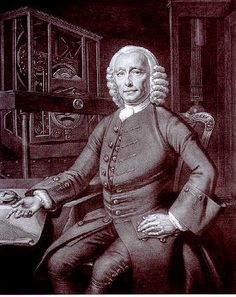 Portrait of John Harrison (1693-1776) The english clockmaker who solved the longitude problem