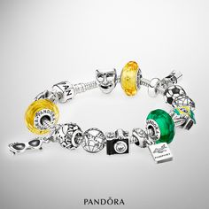 Show your love for Brazil with colorful and fun charms symbolizing the country. #PANDORA #PANDORAbracelet #PANDORAcharm