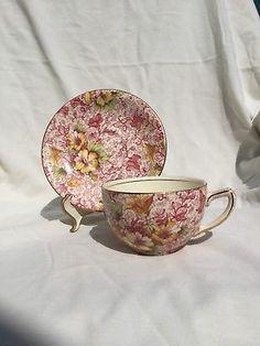 Antique-Vintage-Tea-Cup-and-Saucer