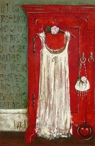 """""""Song of Solomon - Red Cupboard"""""""