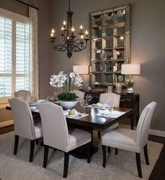 49 Gorgeous Small Dining Room Design Ideas Your dining room is a space for family meals therefore you are looking for it to have a great interior […] Dining Room Table Decor, Modern Dining Room Tables, Dining Room Lighting, Dining Room Design, Dining Room Furniture, Room Decor, Formal Dining Rooms, Space Furniture, Dining Sets
