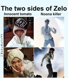 Two sides of Zelo | B.A.P