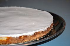 Simple Ricotta Cheesecake.