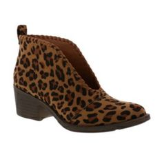 Bamboo Cheetah Print Faux Suede Booties Bamboo Cheetah Print Faux Suede Booties purchased from DSW. **Size 10 but fits like a Size Bamboo Shoes Heeled Boots Leopard Print Outfits, Leopard Print Shoes, Leopard Slip On Sneakers, Leopard Prints, Animal Prints, Suede Booties, Bootie Boots, Shoe Boots, Women's Shoes