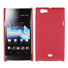 Hard Shell (Rød) Sony Xperia Miro Deksel Galaxy Phone, Samsung Galaxy, Sony Xperia, Shells, Conch Shells, Seashells, Sea Shells, Snail