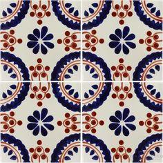 Madrid Border Sevilla Handmade Ceramic Floor Tile