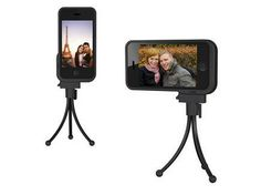 XShot iPhone 4/4S case with a universal tripod adapter. Prepare your next time lapse video and get your tripod out :)  $34.95