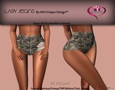 Lary Jeans Applier Group Gift by MH Unique Design