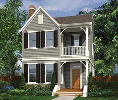 1000 images about skinny lots on pinterest narrow lot for Award winning narrow lot house plans