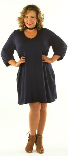 I'm With The Band Dress - Navy - Perfectly Priscilla Boutique