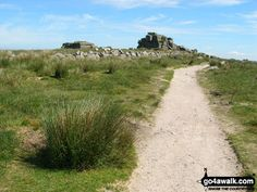Walk Picture/View: Approaching South Hessary Tor in Dartmoor, Devon, England by Jon Eckersall (3)