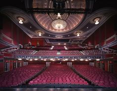 View from the stage of the Broadway Theatre in NYC...this is the theater I went to @Jessica K