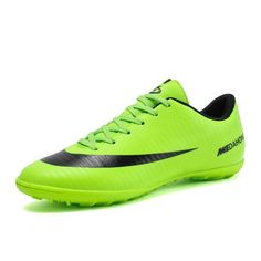4fb7fbe89e5249 New Adults Men's Football Boots Ankle Top Outdoor FG Sole Soccer Cleats  Sports Soccer Shoes High